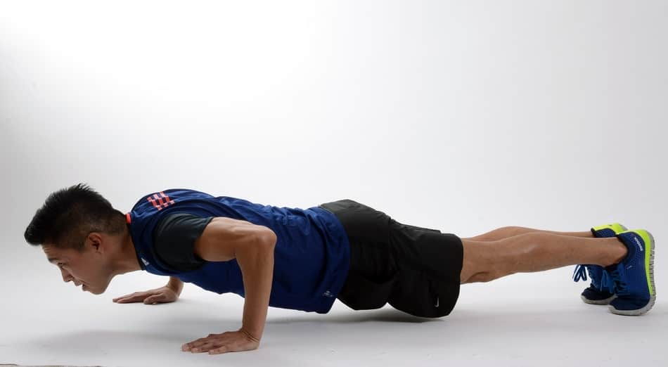 Doing burpees wil make you stronger with pushups