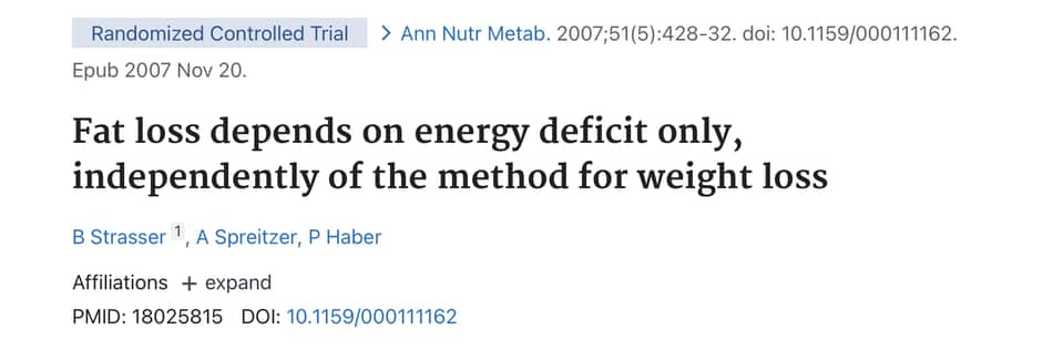 exerpt from pubmed