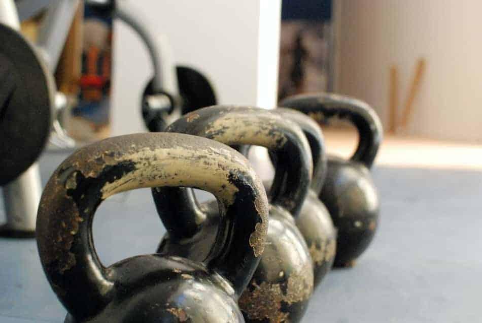 KB swings and hindu pushups done at home