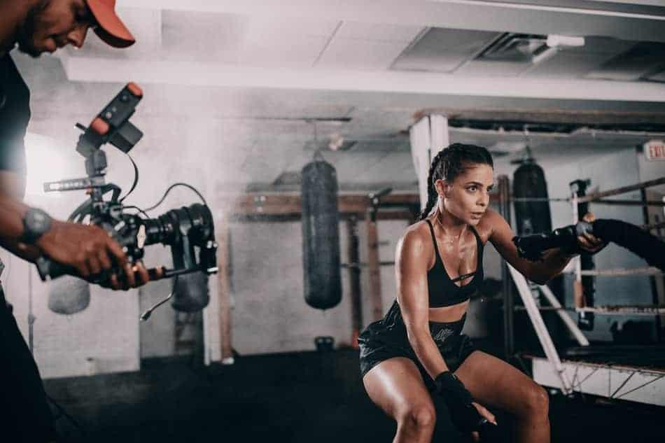 training hard for wrestling