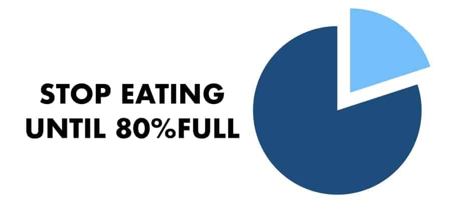 stop at 80 percent full