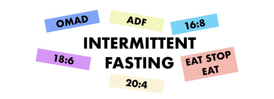 different fasting methods